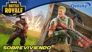 Sobreviviendo | Fortnite: Battle Royale | Gameplay Online