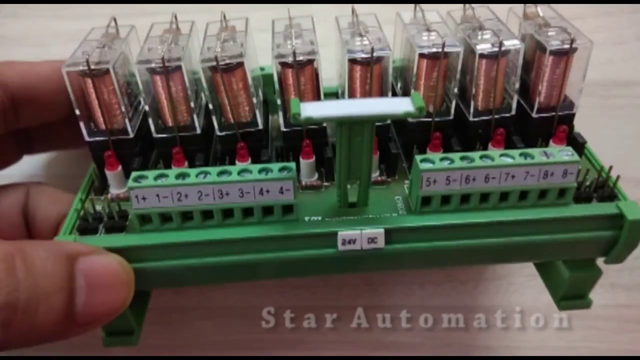 Learning Relay Board Connection With Plc Output Youtube Learn Cnc Ladder Logic Controls Programming And