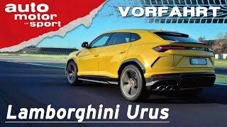 Lamborghini Urus (2018): Sterben Supersportler jetzt aus? – Vorfahrt (Review) | auto motor und sport