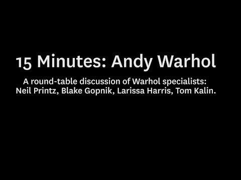 15 Minutes: Andy Warhol