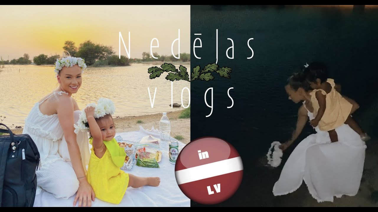 Nedēļas vlogs | Kā mēs nosvinējām Jāņus Dubaijā
