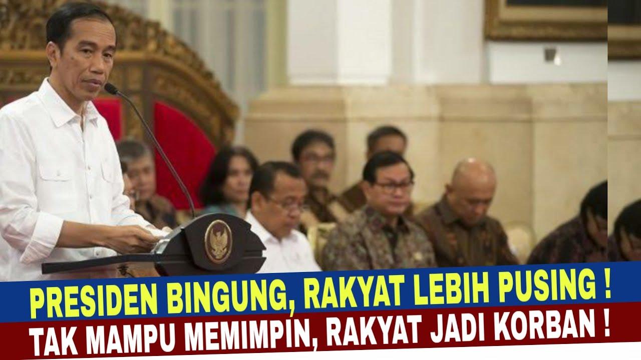 BERITA TERBARU ~13 JULI 2020 - Jokowi Bingung Rakyat Pusing !