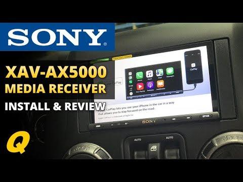 Sony XAV-AX5000 Media Receiver