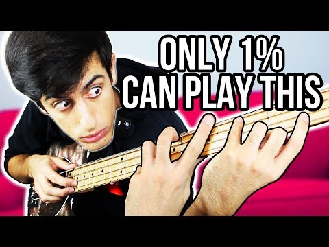 ONLY 1% CAN PLAY THIS SONG on BASS
