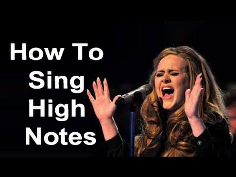 how do you sing high notes how to sing better youtube. Black Bedroom Furniture Sets. Home Design Ideas