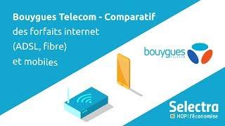 Bouygues Telecom - Comparatif des offres Internet (ADSL, fibre) et des forfaits mobile Bouygues