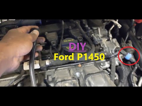 Ford Fusion code P1450 – Unable to Bleed Fuel Tank Vaccum – DIY fix