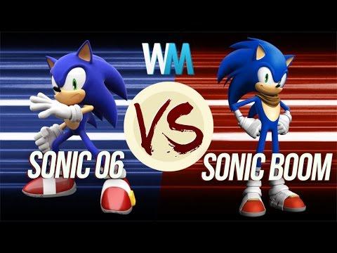 Sonic 06 VS Sonic Boom