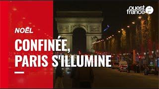 Coup d'envoi des illuminations de Noël à Paris
