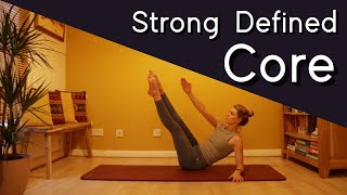 Strong Defined Core | Ab Workout | Classic Mat Pilates