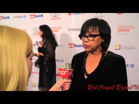 Cheryl Boone Isaacs at the YWCA GLA's The Rhapsody Ball Awards