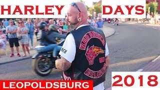 Red Devils MC Belgium & Hells Angels Belgium & Blue Angels Belgium @ Harley Days 2018 Leopoldsburg