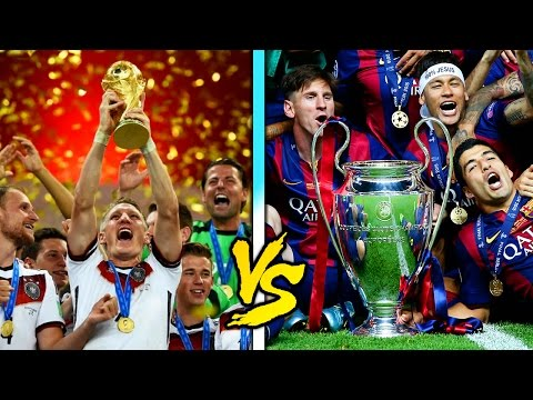 World Cup vs Champions League! What Is The Best Competition?! | FFO