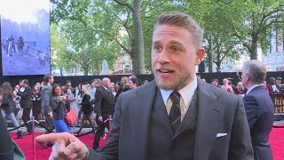 King Arthur: Charlie Hunnam's livid he wasn't the most handsome man on set!