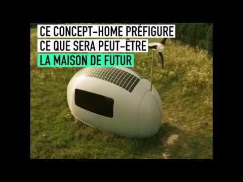 Voici la maison du futur autosuffisante en énergie