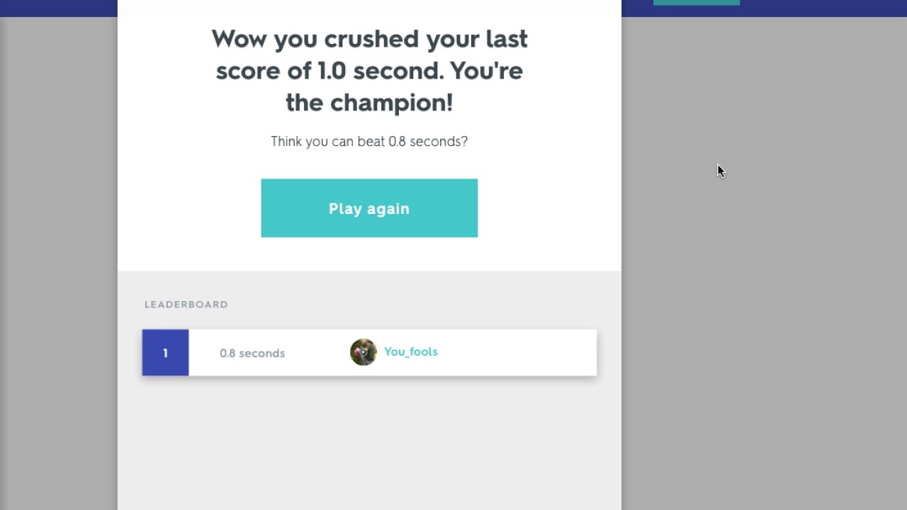 quizlet match hack 0 seconds