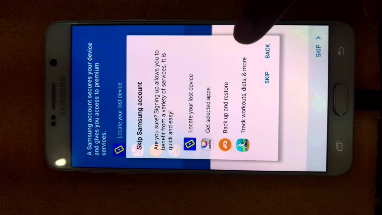 how to stop using google account on samsung phone