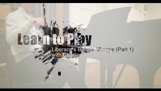 Part 1/3 (Left Hand) - Liberace-Style Boogie-Woogie - Learn to Play Piano with Charlie