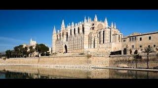 Palma Cathedral of Santa Maria La Seu Palma de Mallorca 4K