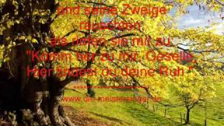 """DIE MEISTERSINGER - Der Lindenbaum """"Am Brunnen vor dem Tore"""""""