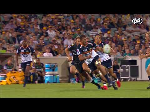 HIGHLIGHTS: 2018 Super Rugby Week #5: Brumbies v Sharks