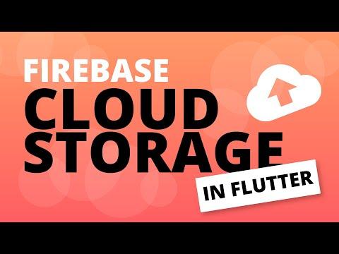 Integrating Cloud Storage in Flutter   Firebase Flutter Tutorial
