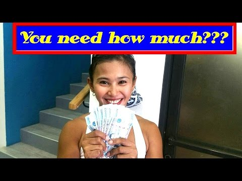 Expat daily expenses in Cebu Philippines. How much?