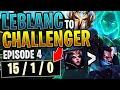 LEBLANC VS YASUO! HOW TO GET 10 *SOLO KILLS* AND STOMP IN DIAMOND! - LEBLANC TO CHALLENGER EP.4