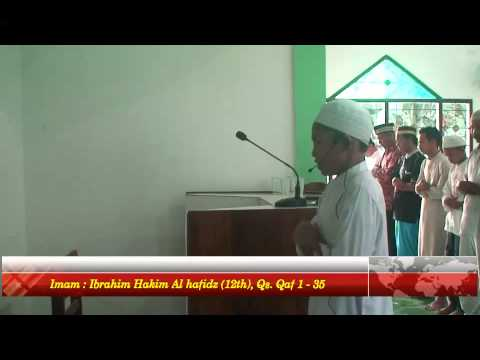 Lantunan suara merdu nan indah ayat al quran ibrahim hafidz cilik indonesia