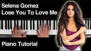 ** sheet music and midi file available - read below selena gomez's lose you to love me has a really tasty piano chord progression wanted put this tut...