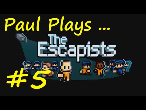 "The Escapists | E05 ""New Update! New Jobs!"" 