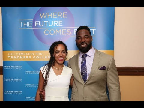 Keynote Presentation: Former New York Giants defensive end Justin Tuck and his wife, Lauran Tuck