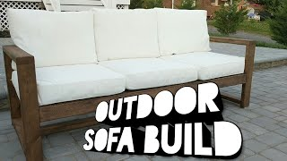 Outdoor Sofa Build