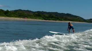 Nelson Learning to Surf