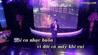 [Karaoke - Beat] Tâm Sự Người Hát Nhạc Buồn - Thiên Quang