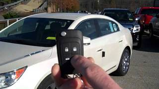 How to use remote start on a Buick