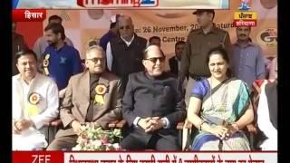 Dr. Subhash Chadra present as chief guest in Chaudhri Charan singh university speed star