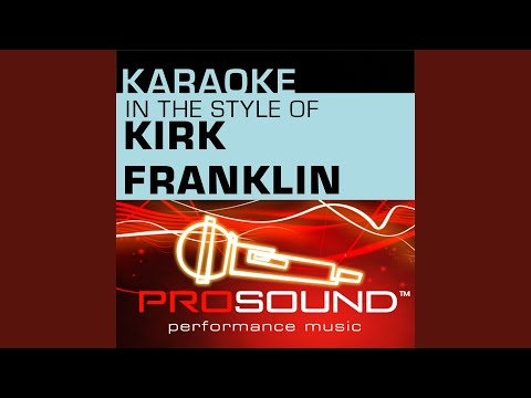 Stomp Karaoke Instrumental Track In the style of Kirk Franklin