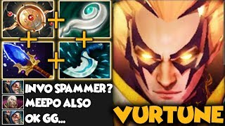 VURTUNE INVOKER IS BACK??? 1082 Matches Meepo He Know How To Dealt With It - Dota 2 Invoker