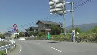 塩尻インターから松林寺20180428