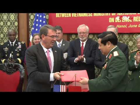 US , Vietnam Sign Deal to Expand Military Cooperation
