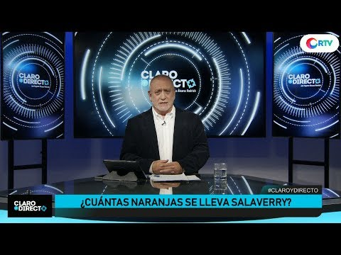 ¿Cuántas naranjas se lleva Salaverry? | Claro y Directo con Augusto Álvarez Rodrich