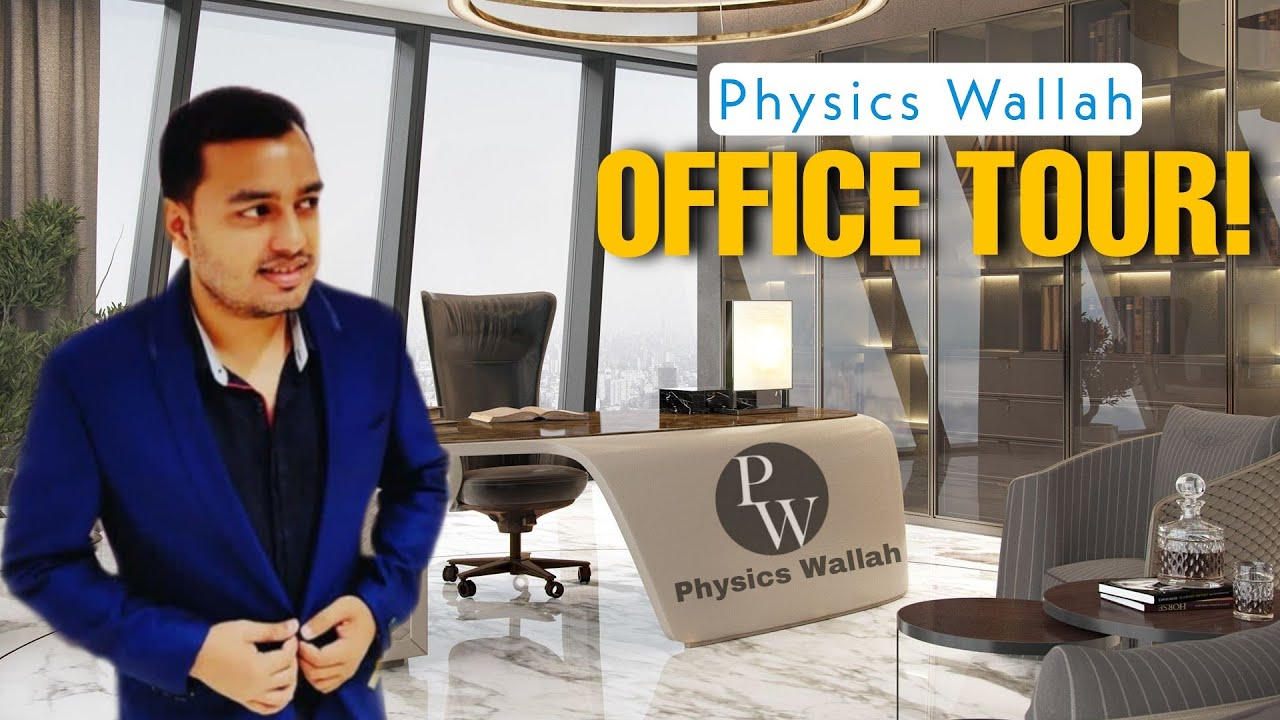 Download Physics Wallah Office Tour! Alakh Pandey Office Tour | Luxurious Office Tour!