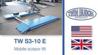 Mobile scissor lift TW S3-10 E from TWIN BUSCH  ®
