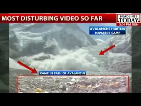 Nepal Earthquake: Avalanche Hits Mount Everest Base Camp