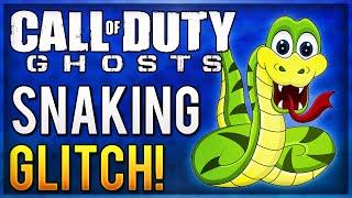 COD Ghosts: SNAKE GLITCH! Funny Snaking Glitch/Superman Glitch Tutorial!