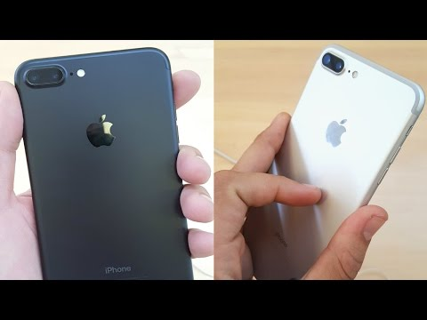 iPhone 7 and 7 Plus in Every Color!