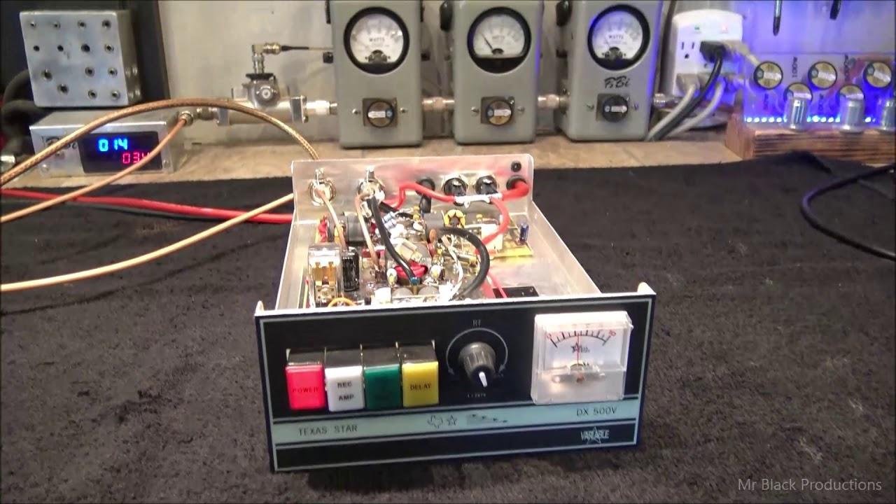 Texas Star DX 500 V Linear Amp by Jungle Joe C