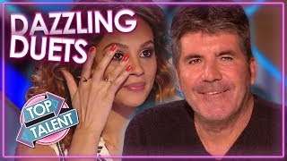 dazzling duets got talent and x factor top talent