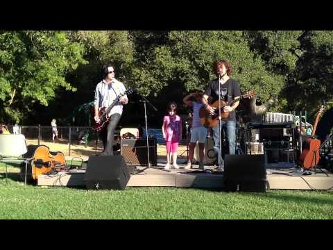 Pine & Battery at Marinwood Music In The Park, 08/03/12